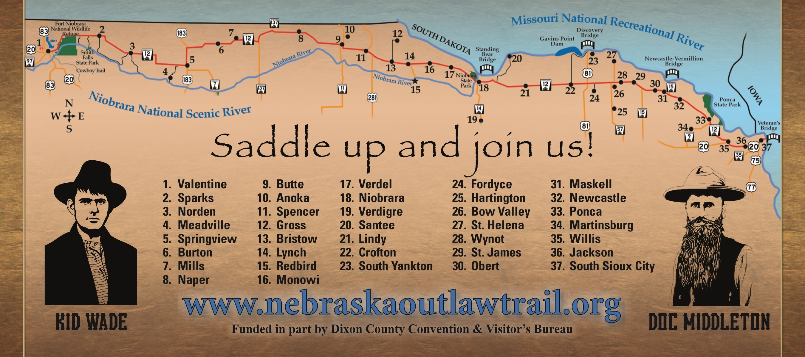 Saddle Up and Join us...